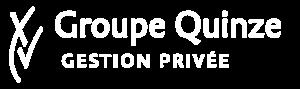 Logo aligné blanc fond transparent